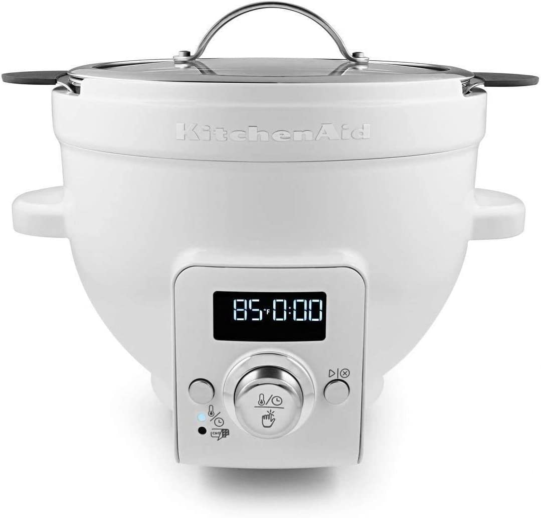 KitchenAid KSM1CBL Precise Heat Mixing Bowl For Bowl-Lift Stand Mixers (Renewed)