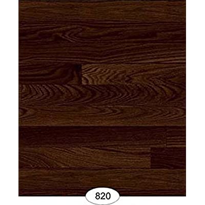 Dollhouse Wallpaper Floor Paper Wood Flooring Mahogany: Toys & Games