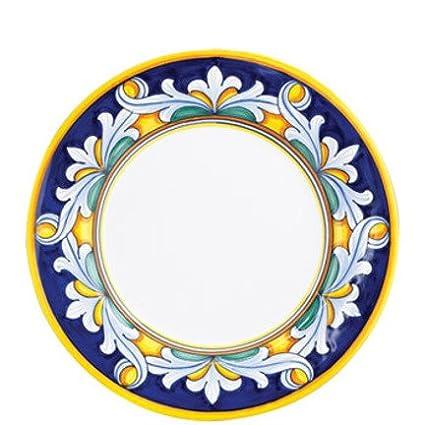 Vietri Umbria Ornato Dinner Plate  sc 1 st  Amazon.com & Amazon.com | Vietri Umbria Ornato Dinner Plate: Dinner Plates