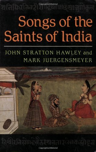 Songs of the Saints of India by John Stratton Hawley (1988-10-27)