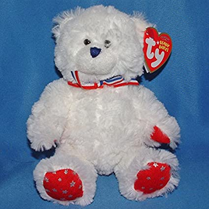 e44769e0a07 Image Unavailable. Image not available for. Color  Ty Beanie Baby Uncle Sam  ...