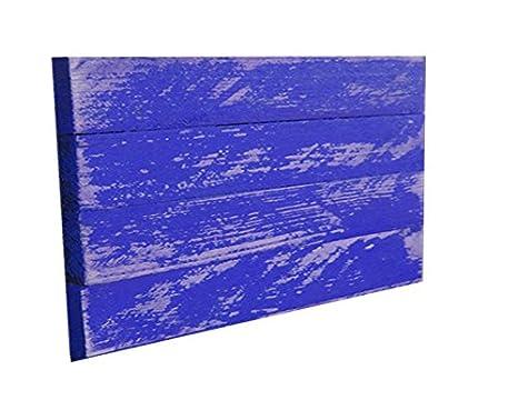 Amazon.com: Madera/de madera Royal azul envejecido 24