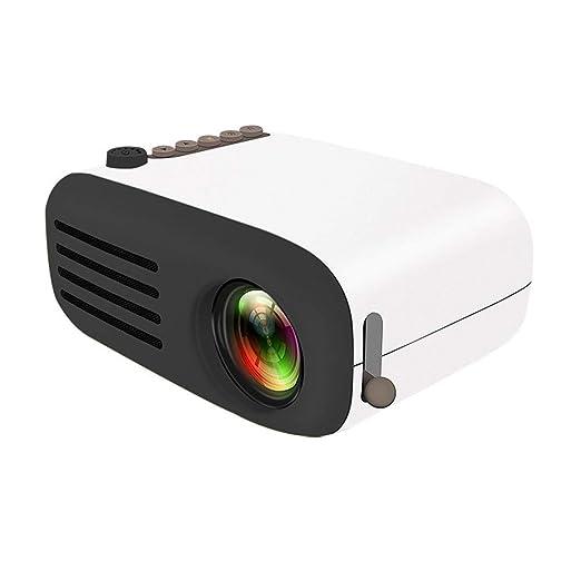LWTOP Mini proyector, cámara de Cine en casa portátil 1080P ...