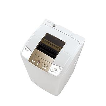 ホワイト:アクア JW-K70M W 7.0kg 風乾燥機能付き全自動洗濯機 【送料無料】