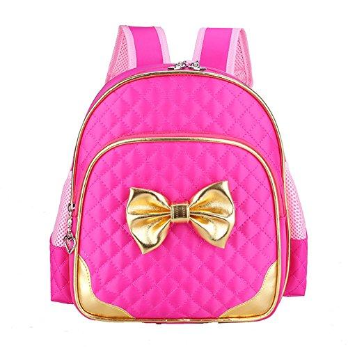 3b65ef7934 Moonwind Bow Waterproof Kindergarten Kids Toddler Backpack Girls School  Book Bag (Rose) - Buy Online in UAE.
