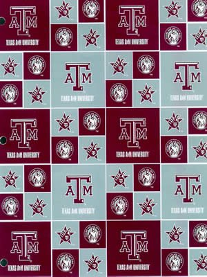 Texas A&M University By Sykel - 100% Cotton 44