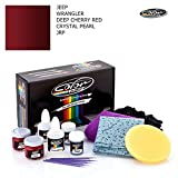 crystal red touch up paint - JEEP WRANGLER / DEEP CHERRY RED CRYSTAL PEARL - JRP / COLOR N DRIVE TOUCH UP PAINT SYSTEM FOR PAINT CHIPS AND SCRATCHES / BASIC PACK