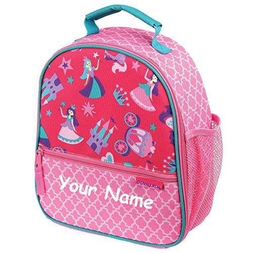 - Stephen Joseph Personalized Princess All Over Print Lunch Box Bag