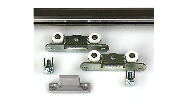 Mantion – Herraje para Medium a de 200 cm plano y estrecho para 1 Muebles Puerta: Amazon.es: Bricolaje y herramientas