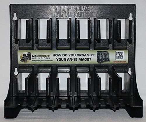 Mag Storage Solutions 5.56 .223 MagHolder Magazine Holder Storage Rack Magpul (Best Metal Ar15 Mags)