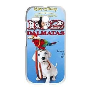 Motorola G White phone case Disney characters 101 Dalmatians DIS2894572