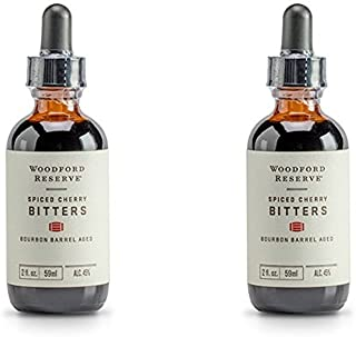 product image for Woodford Reserve Spiced Cherry Bourbon Barrel Aged Cocktail Bitters - 59ml (Pack of 2)