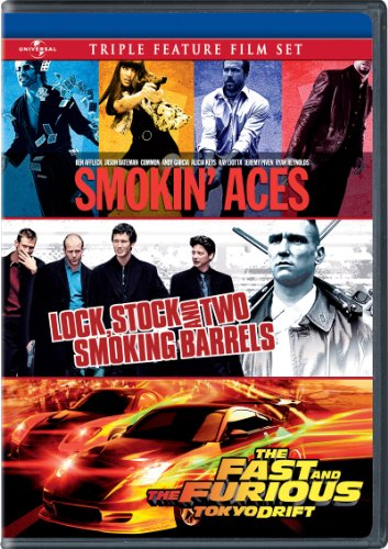Smokin' Aces / Lock, Stock and Two Smoking Barrels / The Fast and the Furious: Tokyo Drift Triple Feature Film Set from UNI DIST CORP. (MCA)