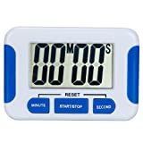 Digital Kitchen Timer Magnetic Back and Retractable Stand Minute...