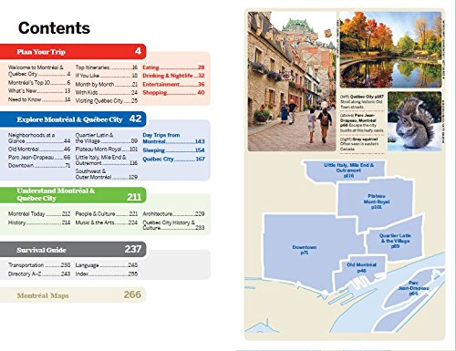 Lonely Planet Montreal & Quebec City (Travel Guide): Lonely Planet on