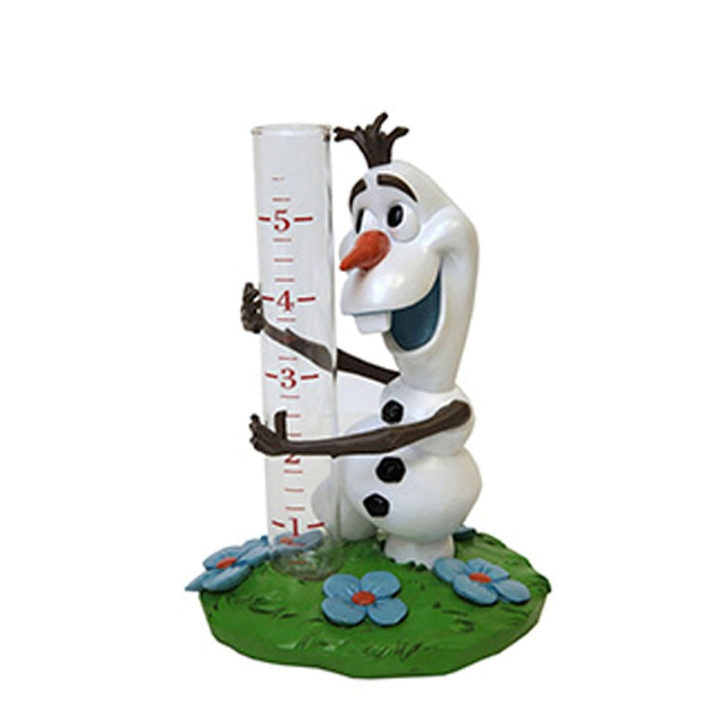 Disney Parks Frozen Olaf Garden Rain Gauge Statue