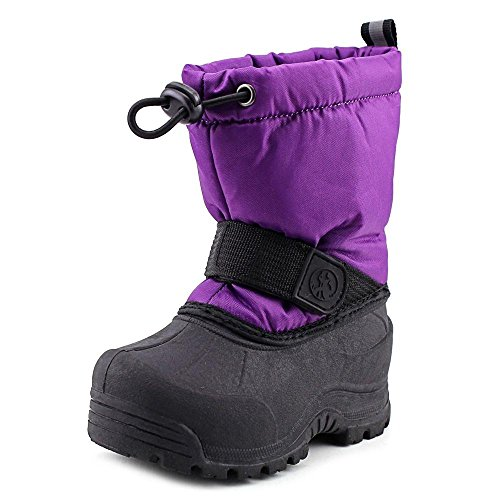 Northside Frosty Winter Boot ,Bright Purple,5 M US Toddler