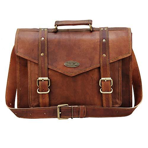 Handmade World Leather Messenger Bags for Men Women