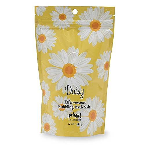 Daisy Salt (Primal Elements Daisy Bubbling Bath Salts, 12 Ounce)