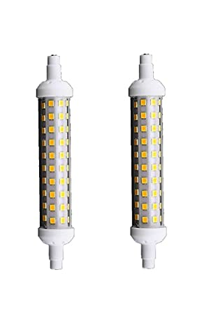 bombilla LED SMD R7s 12 W Lámpara Faros luz natural 4000 K 220 V 1200 Lumen