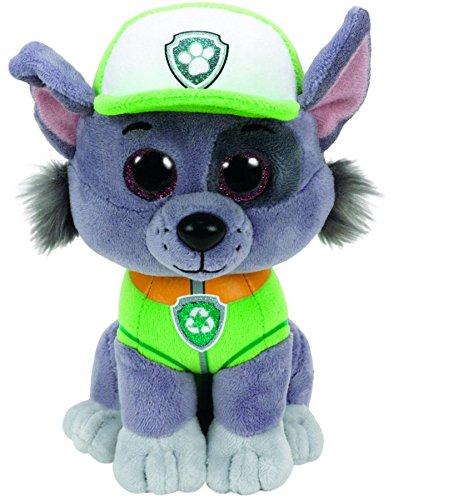 Beanie Baby Boxes (TY Paw Patrol ROCKY - dog reg Plush)