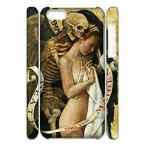 Newest Diy Death Apple Iphone 5C 3D Cover Case UN080500