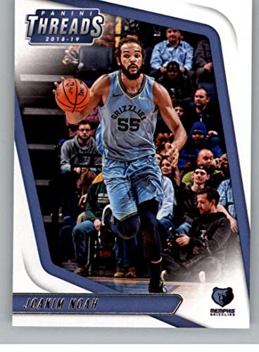 2018-19 Threads Basketball #34 Joakim Noah Memphis Grizzlies Official Retail Only Trading Card From Panini ()