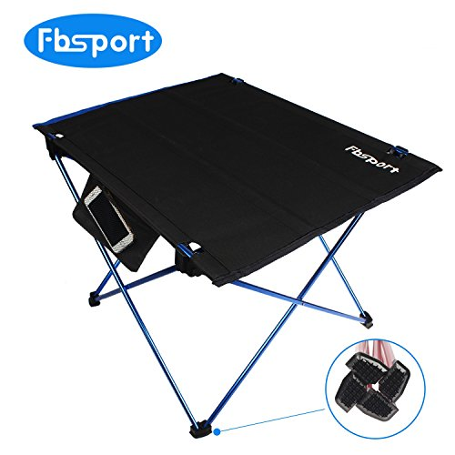 Foldable Lightweight Camping Tables,Portable Compact Lightweight Folding Roll-up Table in a Bag - Small, Light, and Easy to Carry for Picnic,Camp, Beach, Outdoor, Backpacking (Dark blue)
