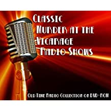 4 Classic Murder at the Vicarage Old Time Radio Broadcasts on DVD