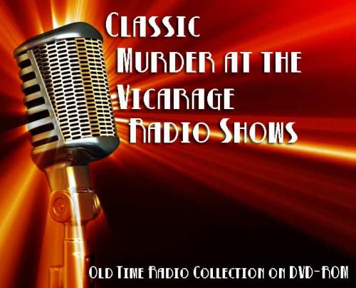 4 Classic Murder at the Vicarage Old Time Radio Broadcasts on DVD (over 2 Hours 16 Minutes running time)