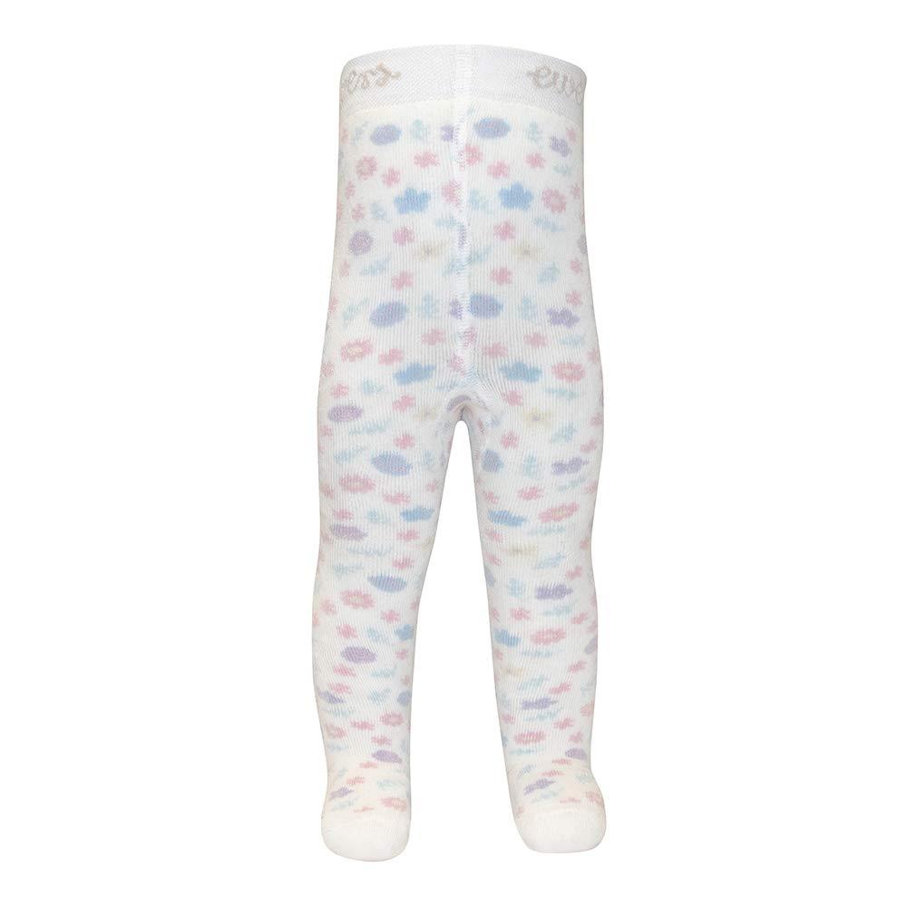 Ewers THERMO Baby MADE IN EUROPE Innenfrottee Pl/üsch Strumpfhose Baumwolle und Kinderstrumpfhose f/ür M/ädchen Blumen