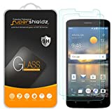 (2 Pack) Supershieldz for ZTE Blade Spark Tempered Glass Screen Protector, Anti Scratch, Bubble Free