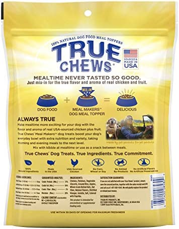 True Chews Beef Sweet Potato Meal Makers, 9 oz