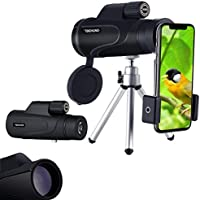Monocular Telescope for phone 16X50 High-powered BAK4...