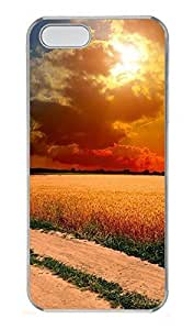 Case For Iphone 6 Plus 5.5 Inch Cover landscapes nature sunset road 3 PC Custom Case For Iphone 6 Plus 5.5 Inch Cover Cover Transparent