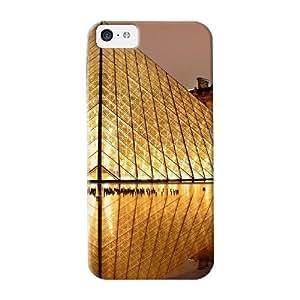 Premium Protective Hard Case For Iphone 5c- Nice Design - Louvre