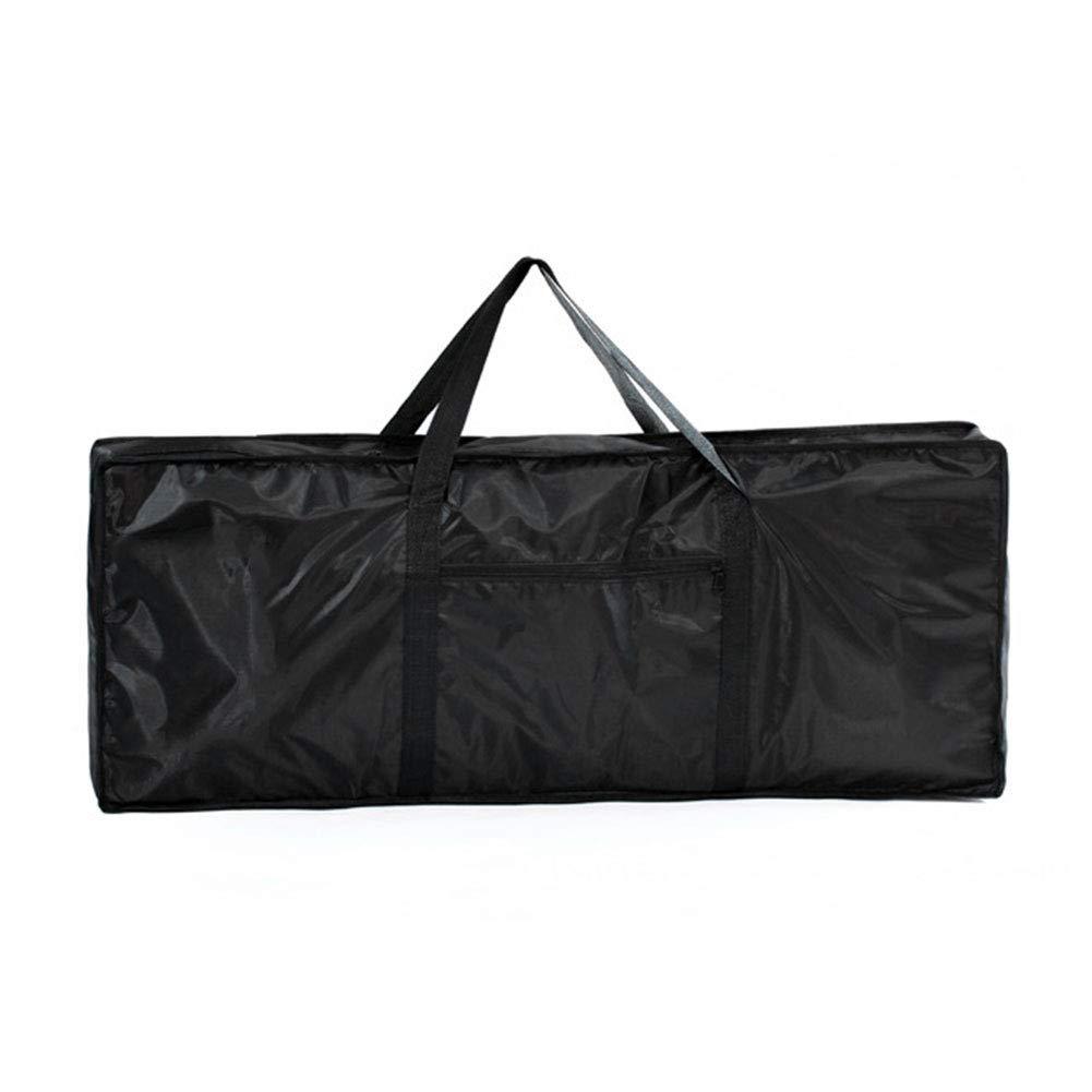 zimo® Housse pour Clavier 61touches étanche sac à dos noir sac de voyage