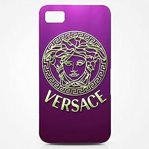 Versace Logo Back Cover For Blackberry Z10 3D Hard Plastic Case