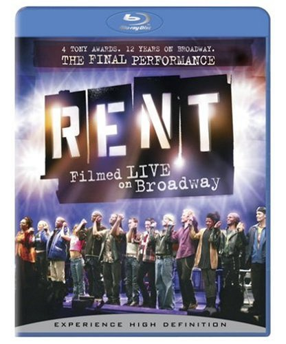 Rent: Filmed Live on Broadway [Blu-ray]