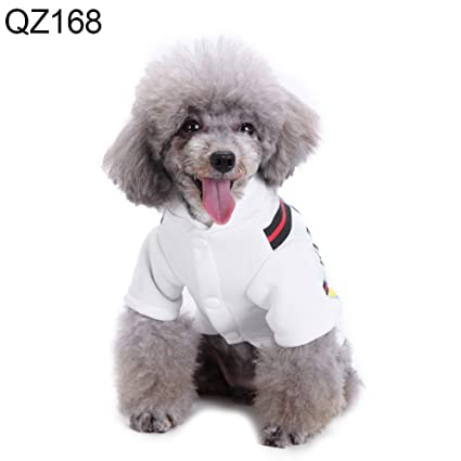 1d9618f9c3fe Amazon.com  lriumpexplo Cute Cartoon Cow Dog Puppy Costume Autumn ...