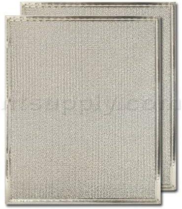 Range Hood Filter Replacement Aluminium Heavy Duty 12 inch X 14-1//2 inch 2-Pack