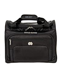 Delsey Luggage Helium Sky 2.0 Personal Tote, Black, One Size