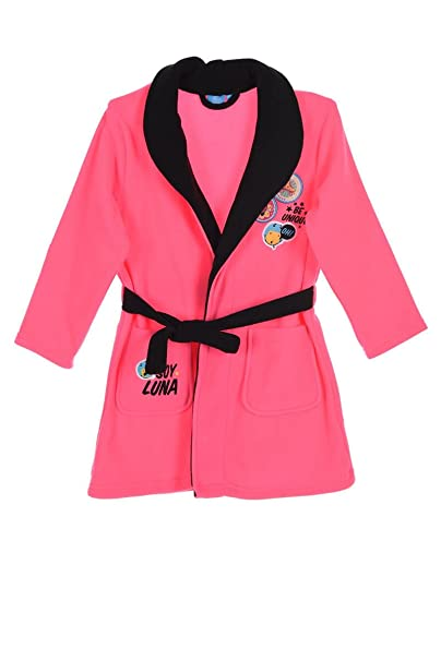 Soy Luna Bathrobe Dressing Gown (6 years, Fushia)