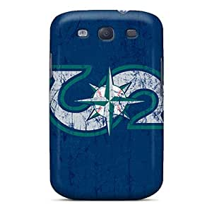 Hot BYHYd1216ByrSV Seattle Mariners Tpu Case Cover Compatible With Galaxy S3