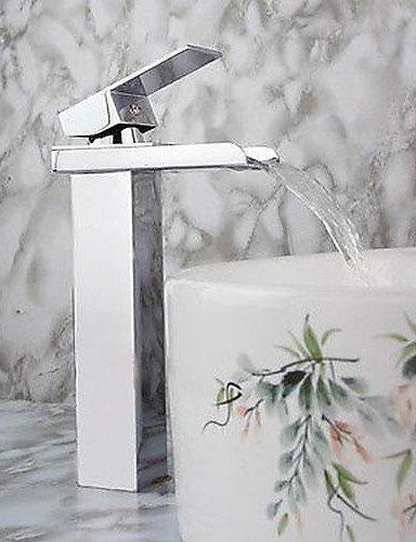 Moderne Einhand-WasserfaÖl Waschbecken Wasserhahn (verchromt)