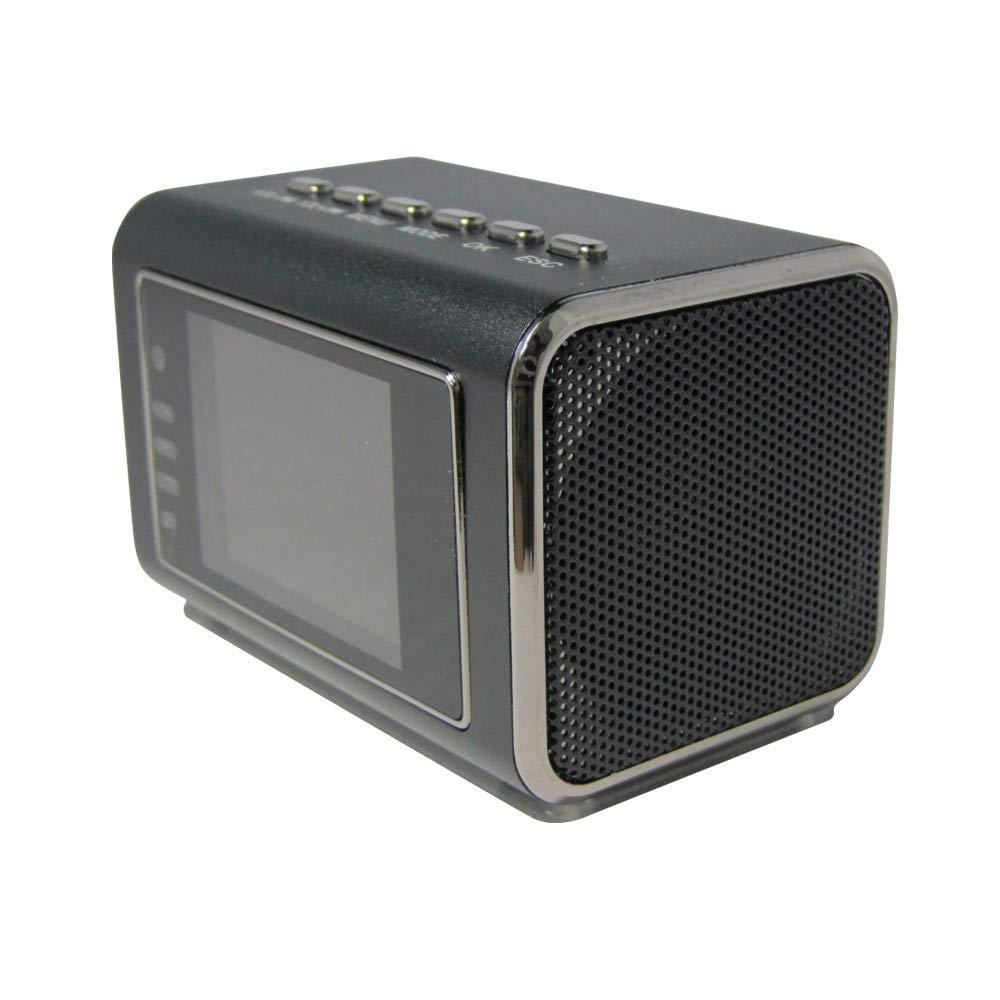 入荷中 ポータブルスピーカー型カメラ!! 液晶画面搭載で操作も簡単 暗闇も赤外線でくっきり撮影 B0168SCO9M 液晶画面で撮影画像も確認できる優れた防犯カメラ すぐに使えるmicroSDカード16GBセット!! B0168SCO9M, アキルノシ:f05742ec --- a0267596.xsph.ru