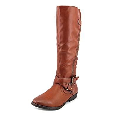 Rampage Iona Tall Riding Boots Brown 6.5 M
