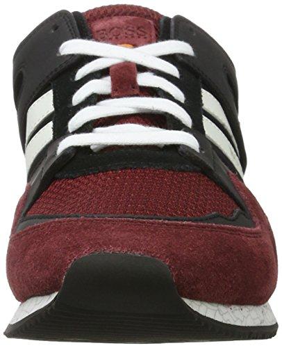 Boss Casual Herren Adrenal_runn_mx 10197240 01 Marciume Sneaker (rosso Scuro)
