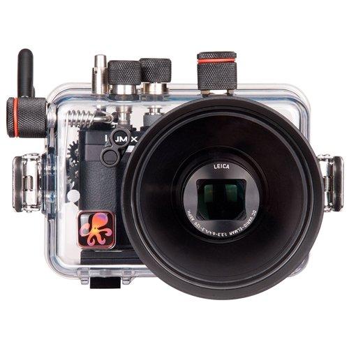 Ikelite 6170.50 Carcasa de cámara a Prueba de Agua - Carcasa acuática para cámaras (60 m, Policarbonato, Transparente,...