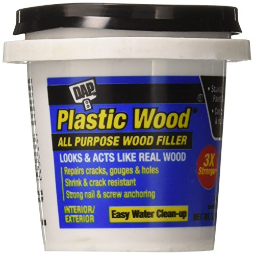 DAP 7079808114 Plastic Wood Latex Golden Oak Raw Building Material, 5.5 oz, ()